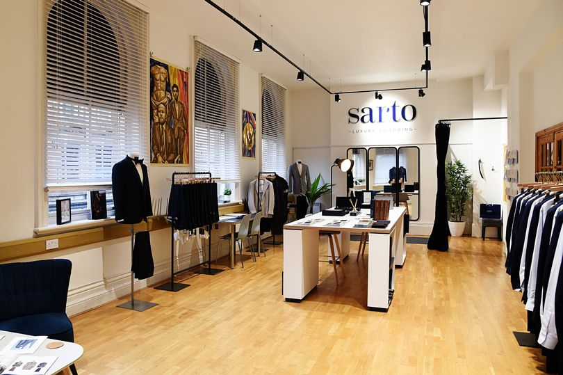 Sarto Luxury Tailoring Feature
