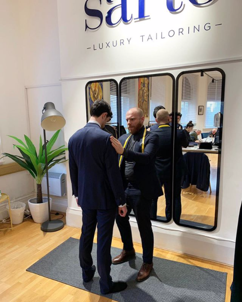 Sarto Luxury Tailoring - Book A Fitting